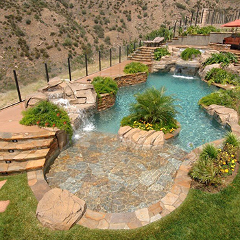 California Pools (beach entry)