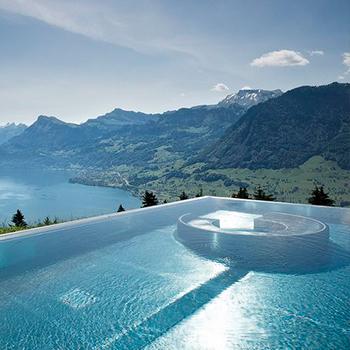 Hotel Villa Honegg (sunken inset spa)