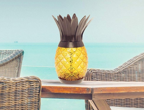 7 Easy Tips To Deck Out Your Patio With Pineapple Decor